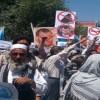 تظاهرات گسترده هواداران داکتر عبدالله در کابل