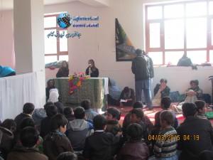 کوتاه گزارش از قریه قادی ولسوالی جاغوری