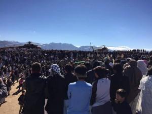 مردم در جاغوری زیبا